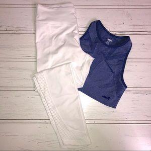 FILA White Workout Legging